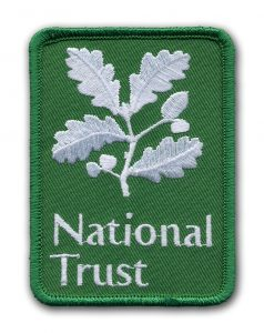 Embroidered Patch for National Trust